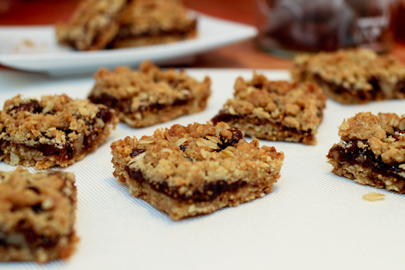 Fig walnut bars
