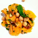 Carrot, Chick Pea & Date Salad