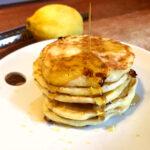 Lemon Vanilla Cottage Cheese Pancakes