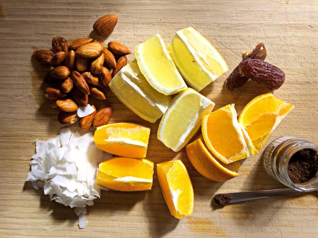 citrus yoghurt