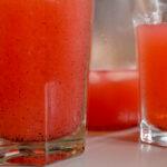 Rhubarb Vanilla Drink